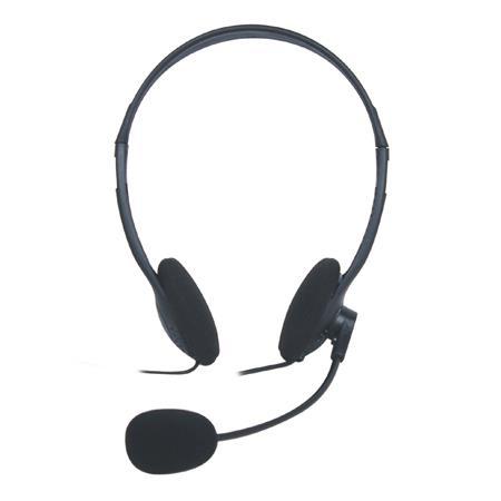 VAKOSS Stereofonní sluchátka s mikrofonem, na uši