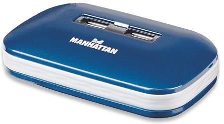 MANHATTAN USB 2.0 hub Ultra, 7 portů, aktivní (s napájecím adaptérem)