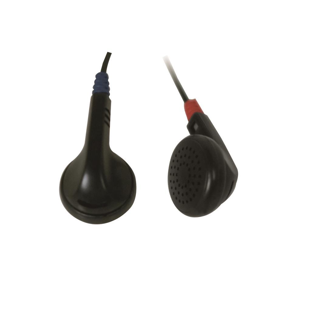 MSONIC Stereofonní sluchátka do uší MP3/MP4 MH121 Černá