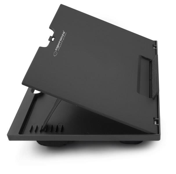 Esperanza EA154K KUKENAN nastavitelná podložka pod notebook na klín, černá