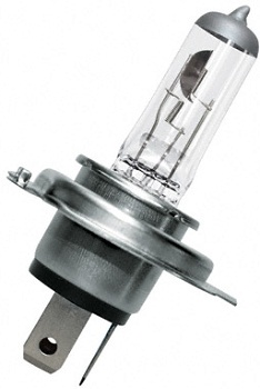 Osram žárovka Bilux H4 Silverstar, 12V, 60/55W, duobox, + 50% světla