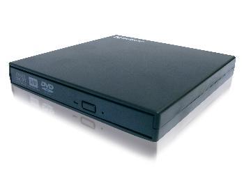 Sandberg externí mini DVD vypalovačka, USB 2.0, černá