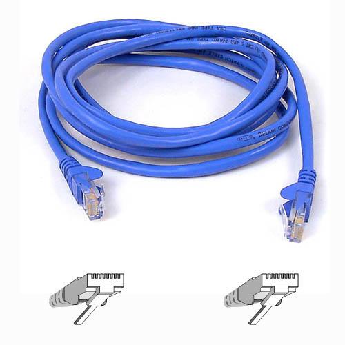 Belkin kabel PATCH UTP CAT5e 2m modrý, bulk montovaný