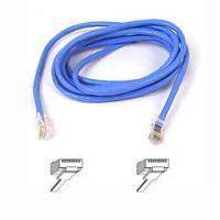 Belkin kabel PATCH UTP CAT5e 2m modrý, bulk Snagless