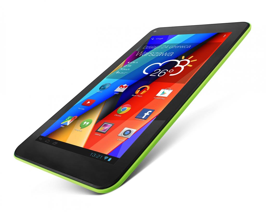Lark FreeMe X4 7 HD Green, 7'' TN, 1GHz, 8GB, 512MB RAM, Android 4.4, zelený