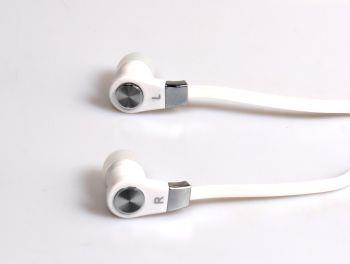 Media-Tech MAGICSOUND DS-2 sluchátka do uší s mikrofonem pro smartphony, bílá