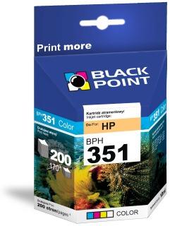 Ink Black Point BPH351 | Color | 10 ml | 200 p. | HP CB337