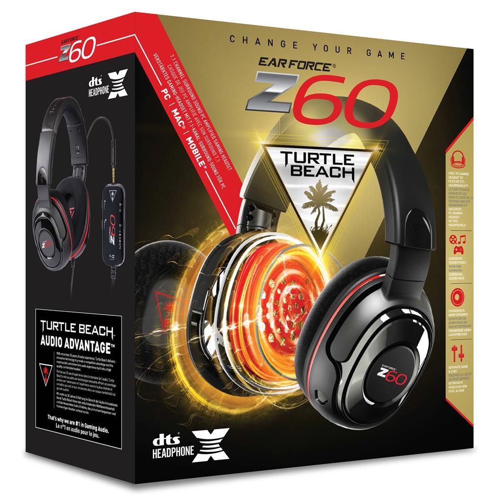 Turtle Beach EAR FORCE Z60 sluchátka s mikrofonem