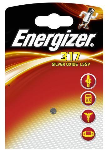 Baterie do hodinek (knoflíková baterie), ENERGIZER, 317