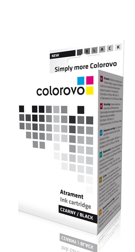 Inkoust COLOROVO 540-BK-XL | Black | 600 str. | Canon PG540 XL