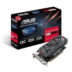 ASUS RX560-O2G 2GB/128-bit, GDDR5, DVI, HDMI, DP