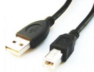 GEMBIRD Kabel USB 2.0 A-B propojovací 1,8m Professional (černý, zlacené kontakty)