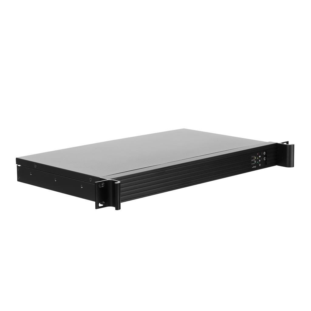 Netrack server case mini-ITX, 482*44,5*250mm, 1U, rack 19''