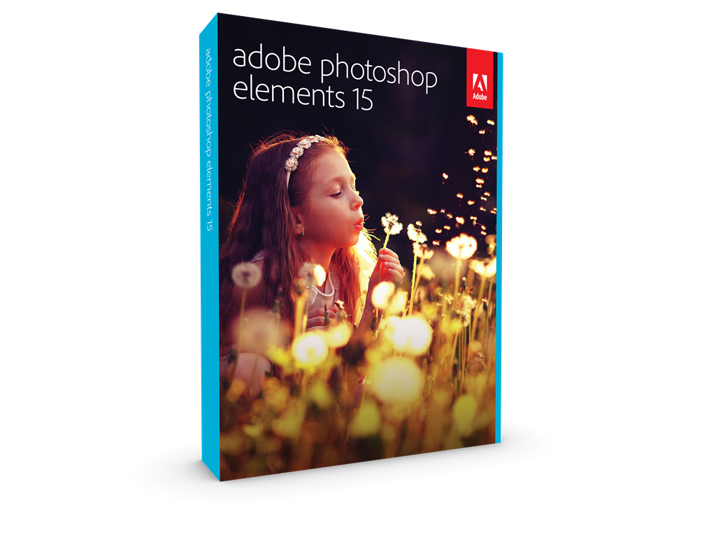 Adobe Photoshop Elements v15, MLP, English, Retail, 1 User