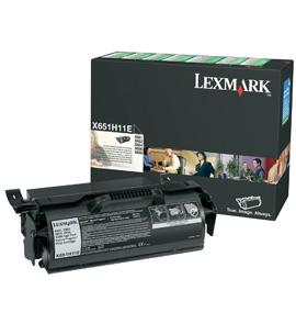 X651, X652, x654, X656, X658 High Yield Return Program Print Cartridge - 25 000 stran
