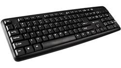 CANYON klasická USB klávesnice, omývatelná, černá