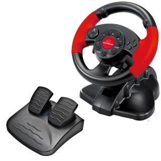 Esperanza EG103 HIGH OCTANE herní volant s vibracemi pro PC/PS2/PS3
