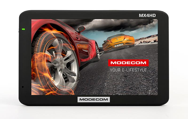 Modecom FreeWAY MX4 HD, 5'', AutoMapa Evropa