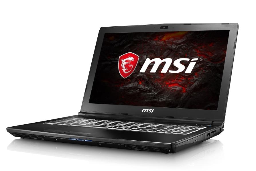 """MSI GL62 7RDX-1416CZ/i7-7700HQ Kabylake/8GB/128 SSD + 1TB HDD/DVDRW/GTX1050 4GB/15.6"""" FHD/Win10"""