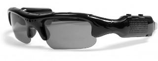 Media-Tech 3RAY sluneční brýle s vestavěnou VGA kamerou, T-Flash, mini-USB
