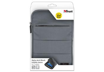 Nylon Anti-Shock bubble sleeve for 7'' tablets - grey