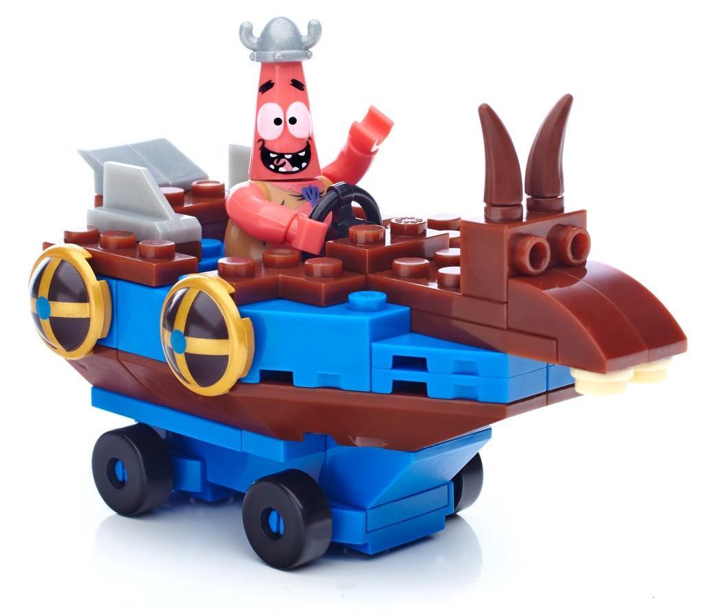Mega Bloks Spongebob Patric Tube, blocks