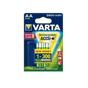 Akumulátory VARTA R6 2600 mAh 2ks proffesional ready 2 use