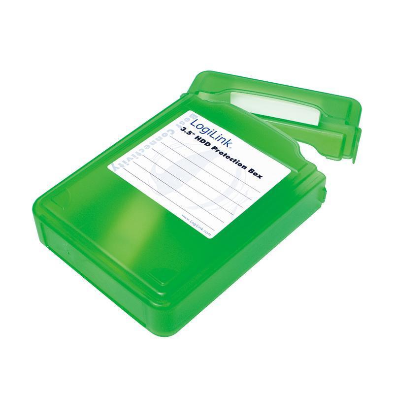LOGILINK - Ochranný box pro 3.5'' HDD green