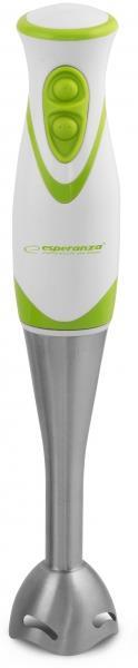 Esperanza EKM002G FRULLATO tyčový mixér, nerezový, bílo-zelený