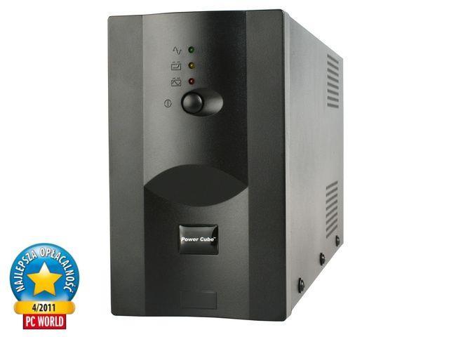 Promo Pack: Energenie UPS 650VA + Natec přepěťová ochrana pro UPS, 3 zásuvky