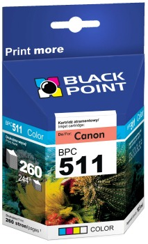 Ink Black Point BPC511 | Color | 12,5 ml | Canon CL-511
