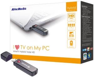 AVERMEDIA AVerTV Hybrid Volar HD USB, TV tuner (DVB-T/analog/FM, HDTV, DO)