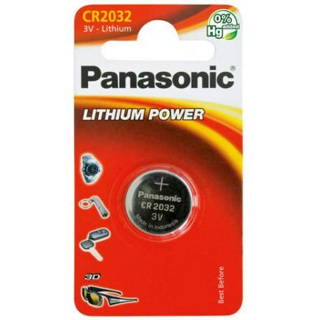 Panasonic Lithium Power knoflíková baterie CR2032, 1 ks, Blister
