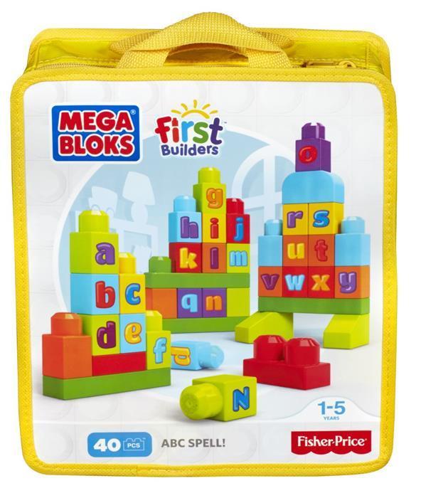 Fisher Price Mega Bloks, blocks ABC Spell! First Builders