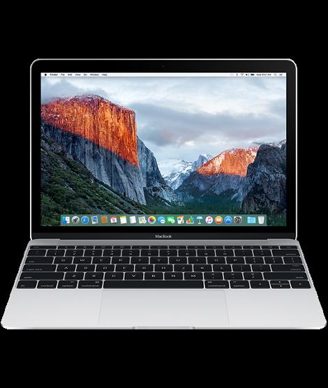 MacBook 12-inch: 1.2GHz Dual-Core m5, 8GB, HD Graphics 515, 512GB - Silver EN kl