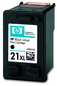 HP 21XL Black Ink Cart, 12 ml, C9351CE