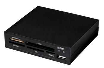 I-BOX Čtečka karet 85v1 USB, interní, černá