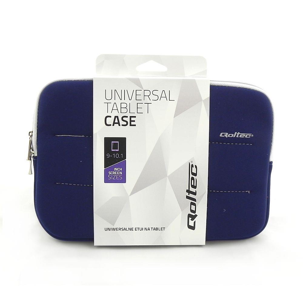 Qoltec High Effective Protection pouzdro pro tablet 9-10.1'', modré