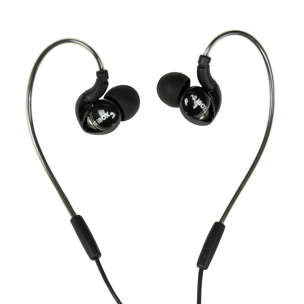 I-BOX S1 Sport sluchátka Audio Mobile BLACK