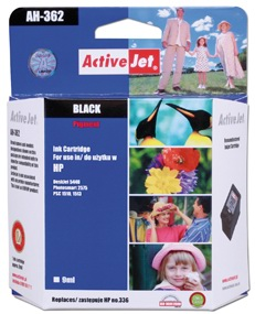Inkoust ActiveJet AH-362 | Black | 9 ml | Refill | HP C9362EE