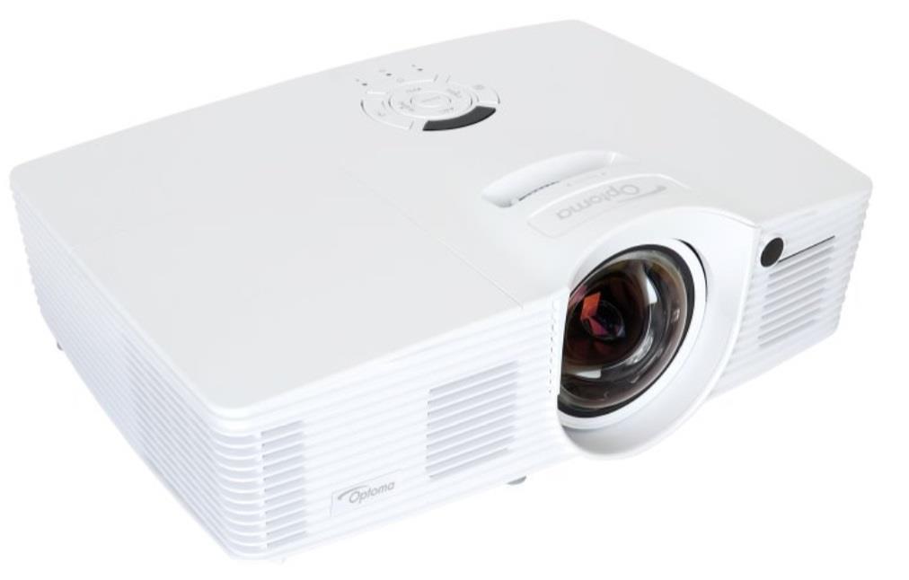 Optoma projektor GT1080 short throw (DLP, FULL 3D 1080p, 2 800 ANSI, 25 000:1, 2x HDMI, MHL, 10W speaker)