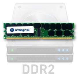 INTEGRAL 2GB 667MHz DDR2 ECC CL5 R2 Fully Buffered DIMM 1.8V