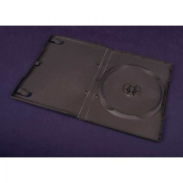 Esperanza Plastové krabičky na 1 DVD 14mm | 100 ks, černé