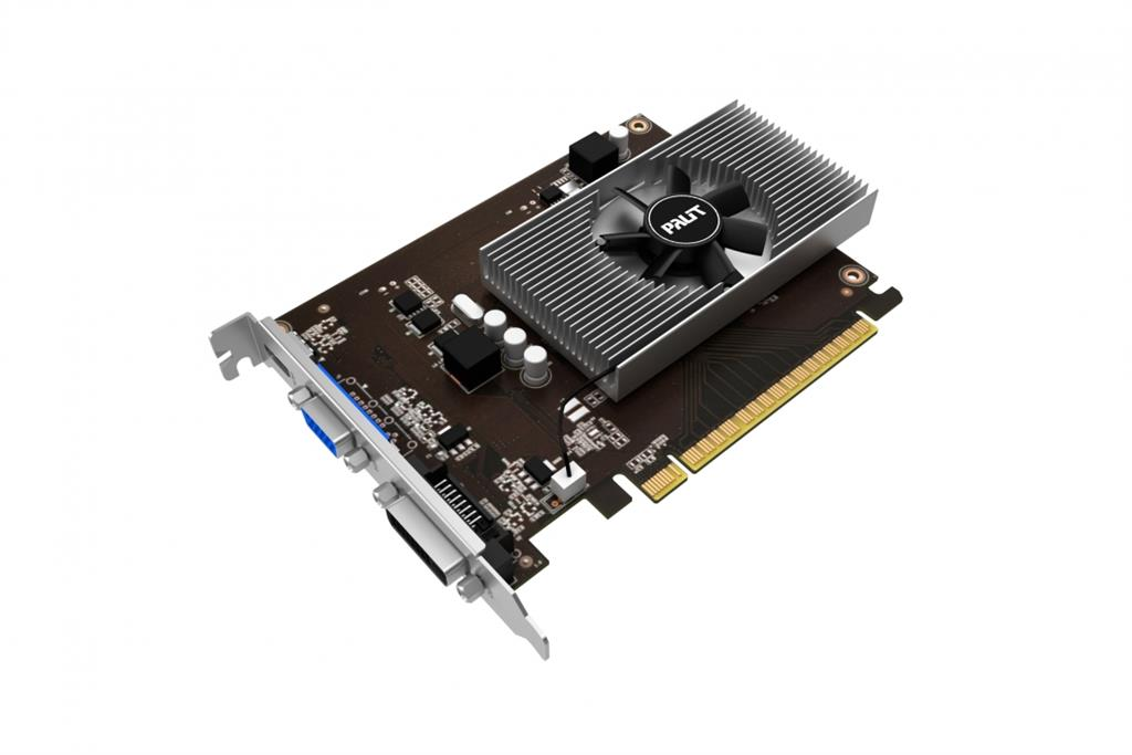 PALIT GeFore GT 730 4GB 64bit sDDR5, DVI + HDMI + CRT
