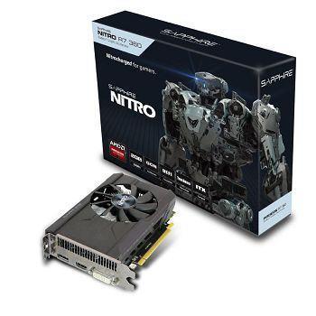 Sapphire Radeon R7 360 OC NITRO, 2GB GDDR5 (128 Bit), HDMI, DVI, DP, BULK
