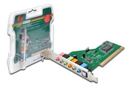 DIGITUS 7.1 PCI Sound Card