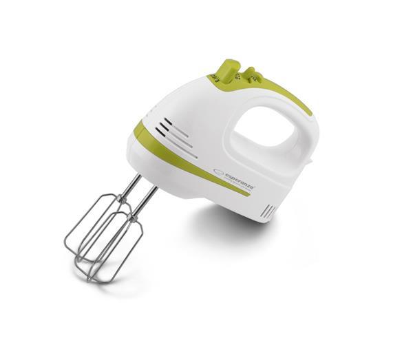 Esperanza EKM011 APPLE PIE ruční mixér 400W, bílo-zelený