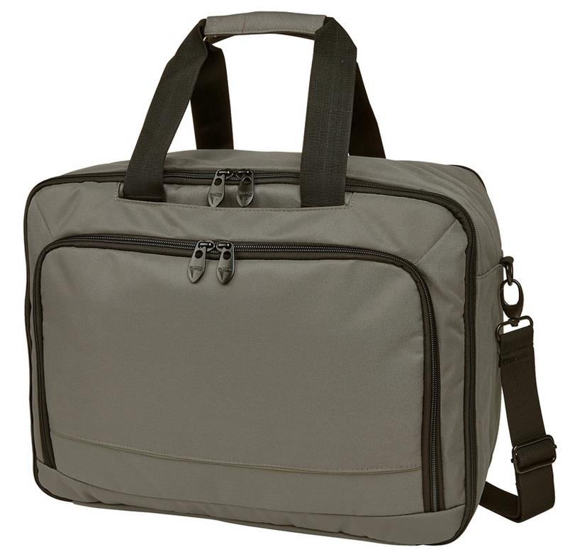 Falcon 3 Way Laptop Travel Bag 15,6'' grey