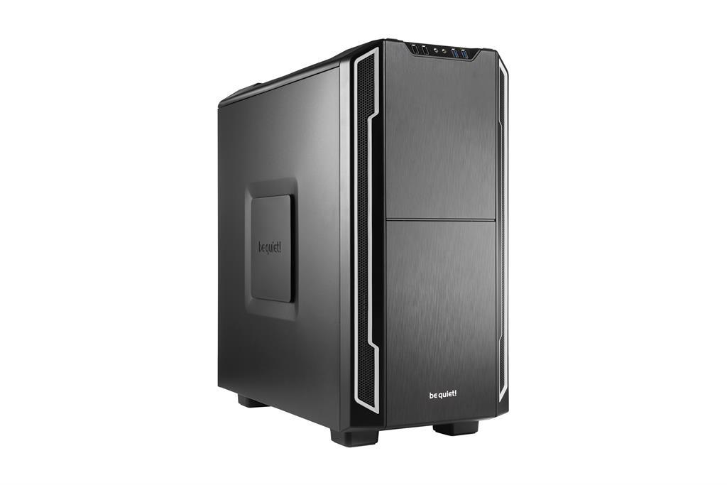 be quiet! Silent Base 600, silver, ATX, micro-ATX, mini-ITX case