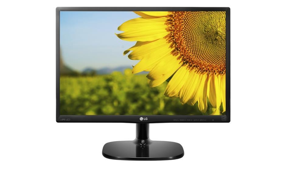 LG Monitor LCD 20MP48A-P 19.5'' IPS, 1440 x 900, 14ms, D-Sub, black